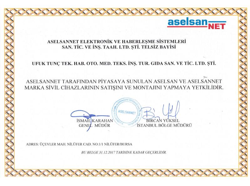 Bursa Aselsan Bayisi