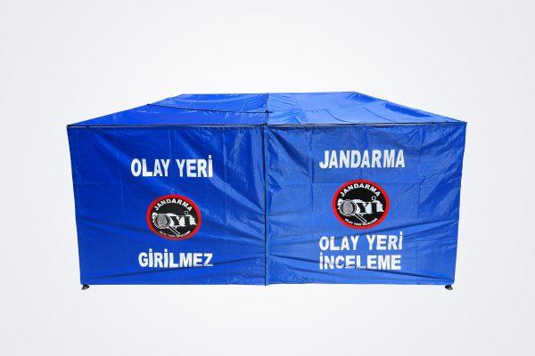 Jandarma açık alan çadırı